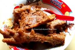 Rendang Ayam Kampung (free rance chicken rendang)
